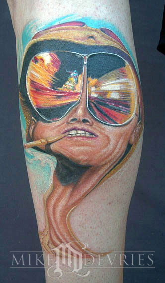 Tattoos - Fear and Loathing Tattoo - 16553